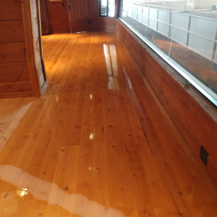 refinished hardwood floor in Missoula, MT